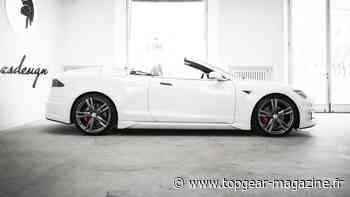La Tesla Model S cabriolet d'Ares Design est... intéressante - TopGear magazine France