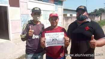 Exigen vacunación y médicos para el municipio Arismendi en Barinas - El Universal (Venezuela)