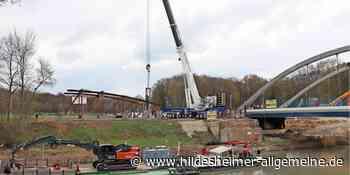 Alte Kanalbrücke zwischen Harsum und Klein Förste ist demontiert - www.hildesheimer-allgemeine.de