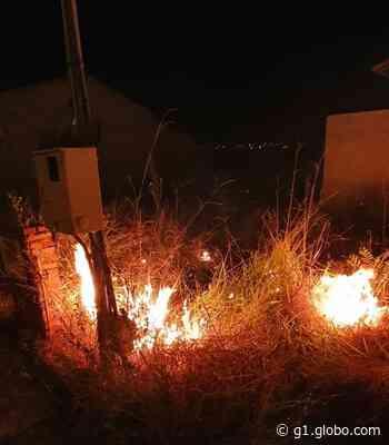 Quatro ocorrências de incêndios são registradas em Ituiutaba em poucas horas - G1