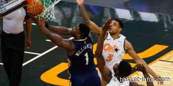 New Orleans pulvérise le Magic; 1er match contre Orlando pour Zion le bulldozer - Basket Infos