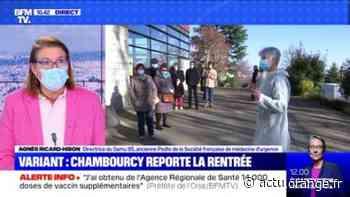 Variant: Chambourcy reporte la rentrée - 28/02 - Actu Orange