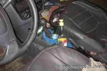 Motorista bêbado foge ao ser detido pela PRF, em Porangatu - Diário do Estado