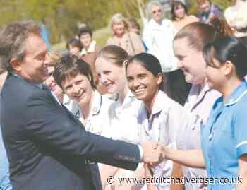 Nostalgia: Tony Blair visits Alexandra Hospital in Redditch - Redditch Advertiser