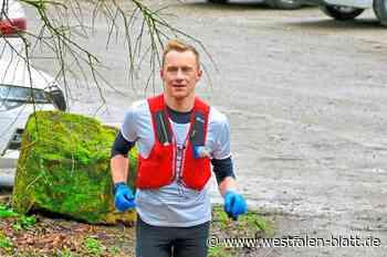 Jan Kaschura läuft 156 Kilometer auf dem Hermannsweg von Rheine zu den Externsteinen: Die Sushi-Bar im Kofferraum - Westfalen-Blatt