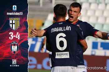 Serie A Tim, 33ª giornata: Parma-Crotone 3-4 | FC Crotone - F.C. Crotone