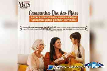 CDL Capinzal, Ouro e Lacerdópolis lança Promoção do Dia das Mães - Rádio Capinzal