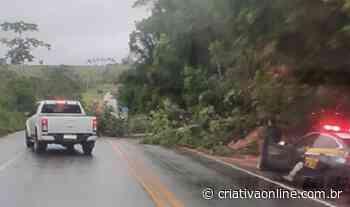 Barranco cede e deixa BR-101 em Santo Antonio de Jesus parcialmente interditada - Criativa On Line