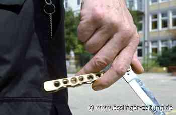 Polizeieinsatz in Filderstadt: 31-Jähriger bedroht Mitbewohner mit Messer - esslinger-zeitung.de