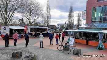 Drei Stände - werden es noch mehr?: Wie in Spelle aus eigenem Antrieb ein kleiner Wochenmarkt entstand - noz.de - Neue Osnabrücker Zeitung