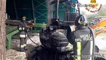Incendi a Travesio e San vito al Tagliamento: bruciano un escavatore e una cucina - Nordest24.it