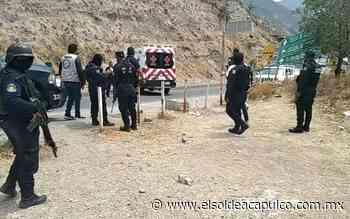Atacan a balazos a hombre cerca del Libramiento a Tixtla - El Sol de Acapulco