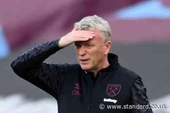 David Moyes bullish over West Ham Champions League hopes and predicts frantic top-four finale