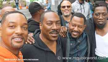 When Will Smith bumped into Eddie Murphy & Martin Lawrence on sets of Coming 2 America - Republic TV