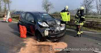 Nebel sorgte für schlechte Sicht: Mehrere Unfälle auf der A46 bei Erkelenz am Morgen - Aachener Zeitung