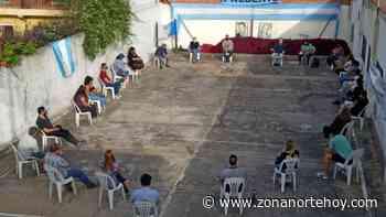 Agrupaciones y dirigentes peronistas de Ricardo Rojas también pidieron por la asunción de Julio Zamora como presidente del PJ Tigre - zonanortehoy.com