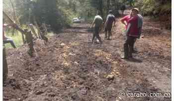 Lluvias causan calamidad pública en vías rurales de Chiquinquirá - Caracol Radio