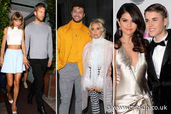 From Taylor Swift and Calvin Harris to Justin Bieber and Selena Gomez — these celeb romances turned s... - The Sun
