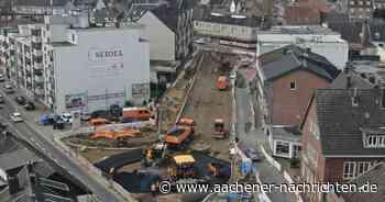 Bauprojekt in Baesweiler-Mitte: Neuer Busbahnhof nimmt Formen an - Aachener Nachrichten