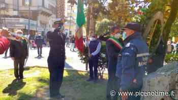 San Benedetto del Tronto: 25 Aprile, deposta corona dinanzi al monumento di Marcello Sgattoni - picenotime