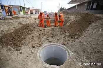 UNOPS adjudicó buena pro para obra más grande de agua potable y alcantarillado de Perú - Agencia Andina