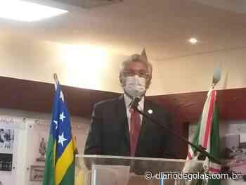Caiado inaugura em Goianira Vapt Vupt e assina ordem de serviço para uma quadra esportiva - Diário de Goiás