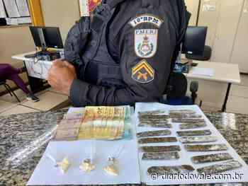 Presos suspeitos de tráfico e associação ao tráfico em Paty do Alferes - Diario do Vale
