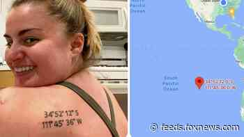 Woman accidentally gets wrong coordinates inked for tattoo of special place: 'Painful realization!'