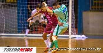 Toledo Futsal derrota o Siqueira Campos com gol nos segundos finais e vence a primeira na Chave Ouro - Toledo News