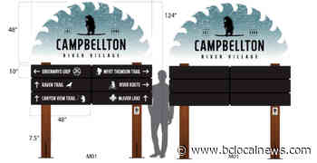Campbellton to get new wayfinding, welcome signage – BC Local News - BCLocalNews