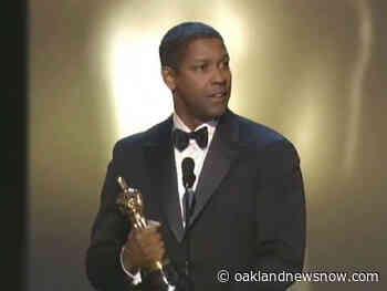 Denzel Washington Wins Best Actor: 2002 Oscars - Oakland News Now