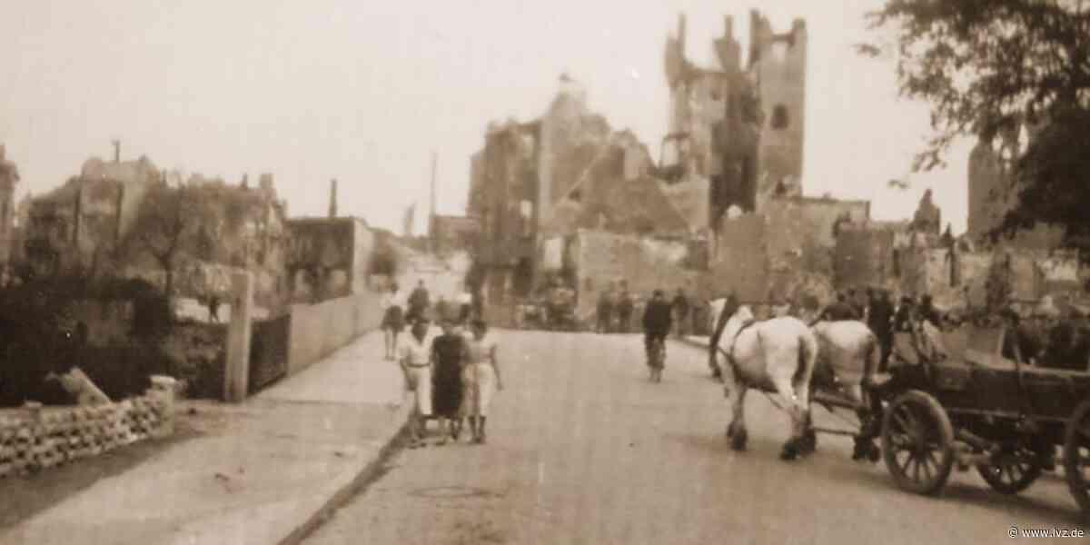 Bisher unveröffentlichte Fotos vom Kriegsende 1945 in Eilenburg - Leipziger Volkszeitung