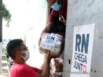 Governo entrega mais de 1.650 cestas básicas em Extremoz e Natal - Ceará-Mirim Notícias
