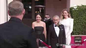 """De punta en blanco: así fue el paso de """"El Agente Topo"""" por la alfombra roja de los Premios Oscar - ADN Chile"""