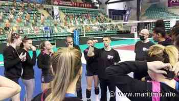 Final Four Istres-Mougins: dernier entraînement pour les volleyeuses avant la 1/2 - Istres - Sports - Maritima.info