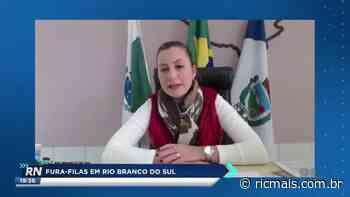 Fura-filas em Rio Branco do Sul são investigados; um é adolescente - RIC - RIC Mais