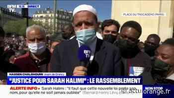 """Sarah Halimi: l'imam de Drancy estime que la justice """"ne pas fait son travail"""" - Actu Orange"""