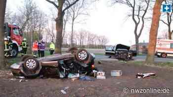 Unfall in der Gemeinde Garrel: Mehrere Verletzte nach Kollision bei Nikolausdorf - Nordwest-Zeitung