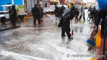 En Ilave realizan jornada de limpieza en diferentes partes de la ciudad - Radio Onda Azul