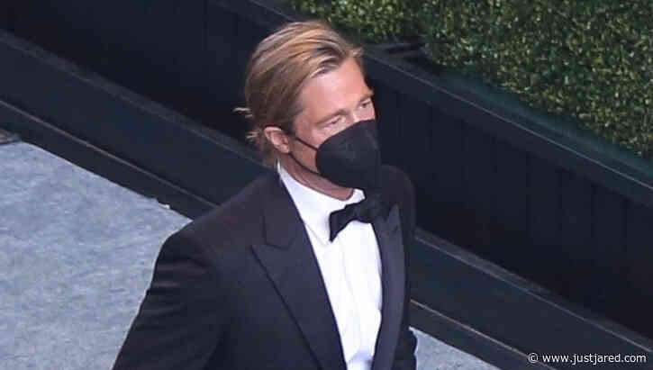 See Brad Pitt (And His Manbun!) Backstage at Oscars 2021 with These New Photos!