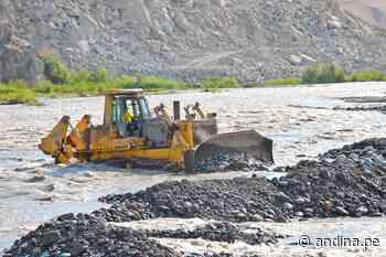 Región Lima: ejecutan trabajos para evitar posibles desbordes del río Huaura - Agencia Andina
