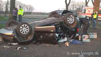 Mann bei schwerem Autounfall lebensgefährlich verletzt – Tochter saß neben ihm - Tonight News