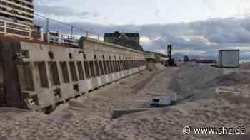 Als Schutz vor der Nordsee: Mauer in Westerland wird für 1,8 Millionen verstärkt   shz.de - shz.de