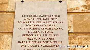 A Castellana una targa in ricordo dei partigiani caduti per liberare l'Italia: fu realizzata con una raccolta fondi dei cittadini - BariToday