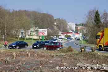 Cinq mois de travaux débutent à l'entrée de Montivilliers - Paris-Normandie