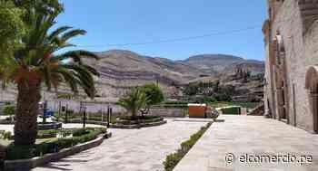 Arequipa: descubren que pueblo está asentado en el cráter de un volcán extinto hace 1 millón de años - El Comercio Perú