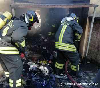 Cesate, incendio box al Villaggio Ina, intervento dei Vigili del fuoco - Il Notiziario
