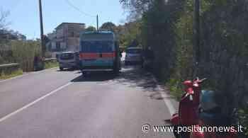 Sant'Agnello, incidente ai Colli di Fontanelle: solo qualche lesione per il conducente - Positanonews - Positanonews