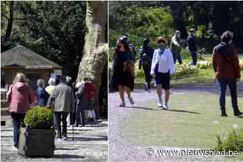 Na volkstoeloop dit weekend: burgemeester vraagt Floralia om bezoekers zonder reservatie sneller weg te sturen<BR />