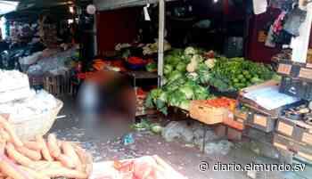 Asesinan a un hombre al interior del mercado de Quezaltepeque en La Libertad - Diario El Mundo